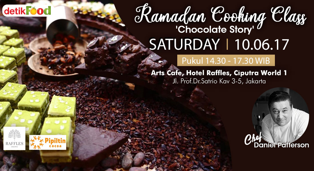Ramadan Cooking Class  : Chocolate Story