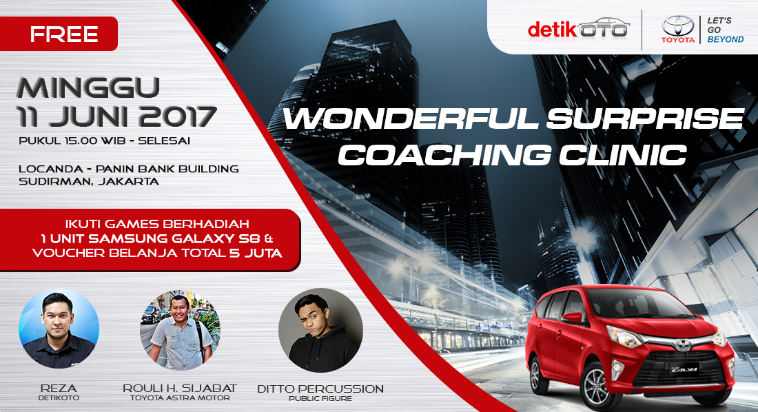 "COACHING CLINIC ""WONDERFUL SURPRISE"""