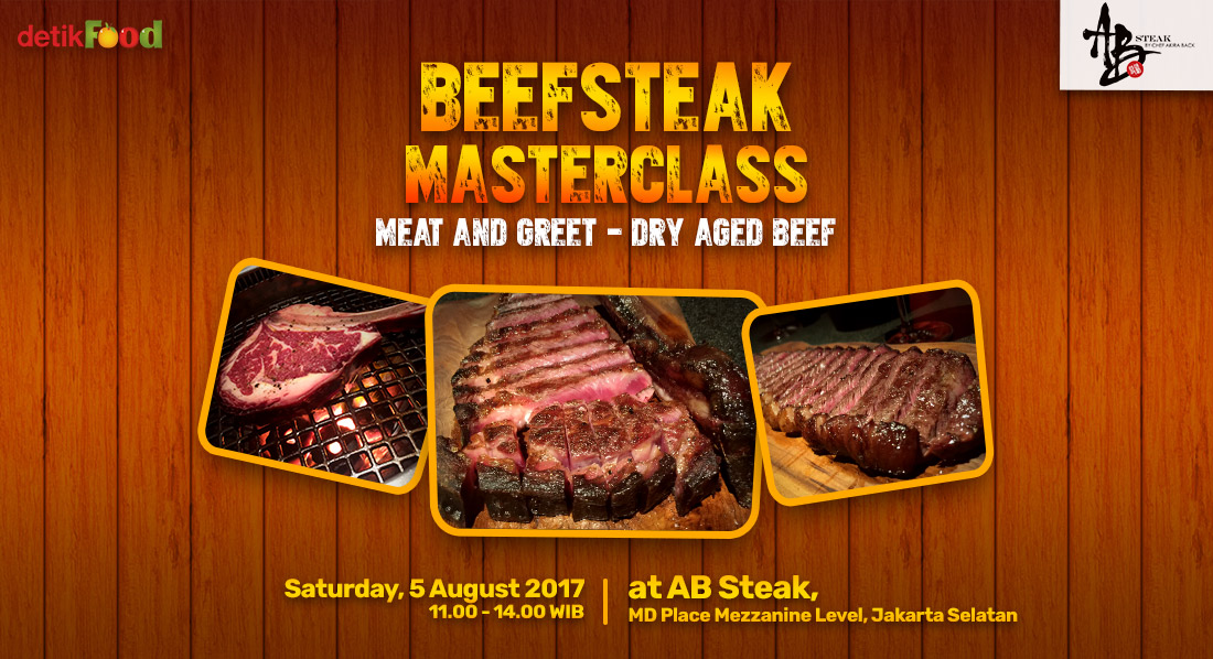 Beefsteak Masterclass : Meat and Greet - Dry Aged Beef