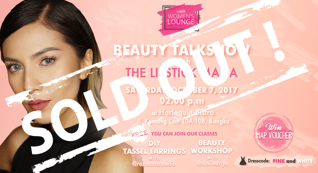Wolipop Womens Lounge : Beauty Talkshow with The Lipstick Mafia