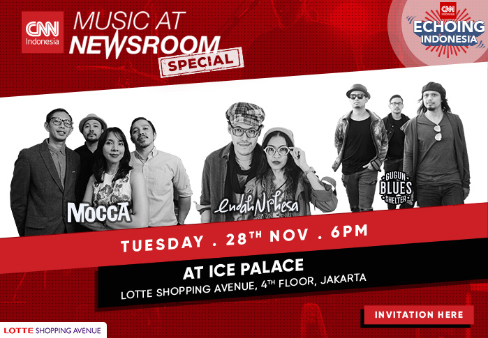 Music at Newsroom Special Echoing Indonesia