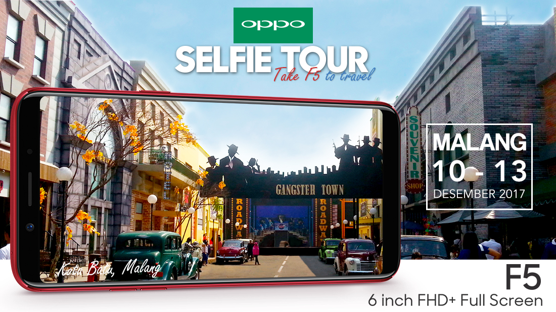 OPPO Selfie Tour Take F5 to Travel [Malang]