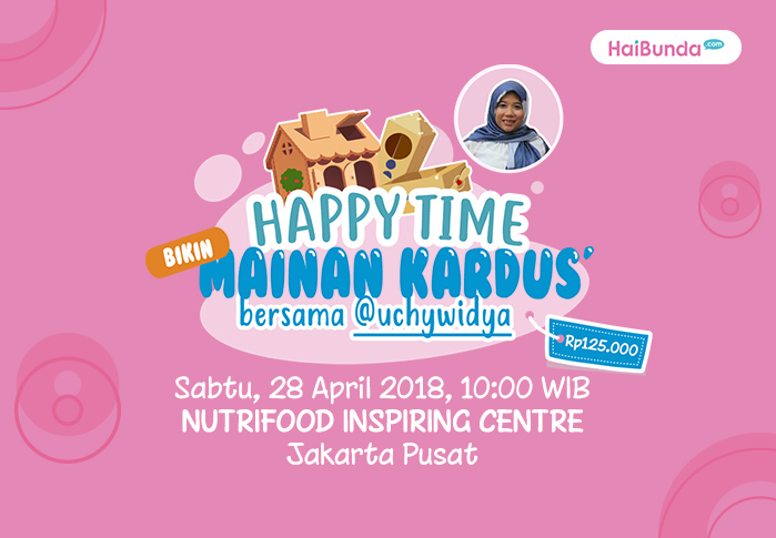 Happy Time Bikin Mainan Kardus