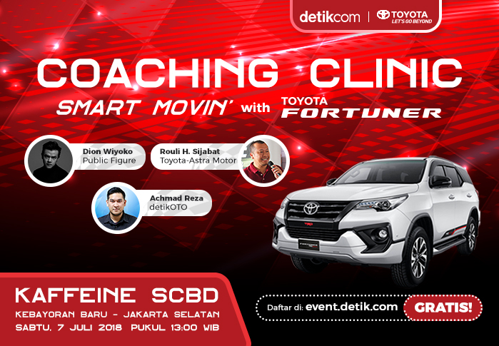 Coaching Clinic with Toyota Fortuner