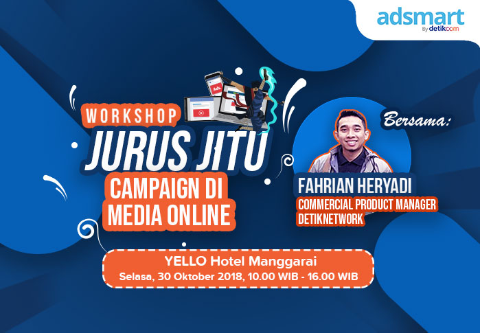 Workshop Jurus Jitu Campaign di Media Online