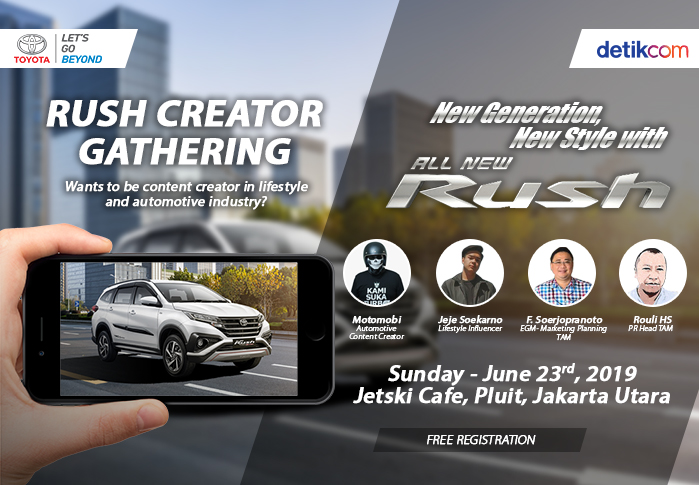 Rush Creator Gathering