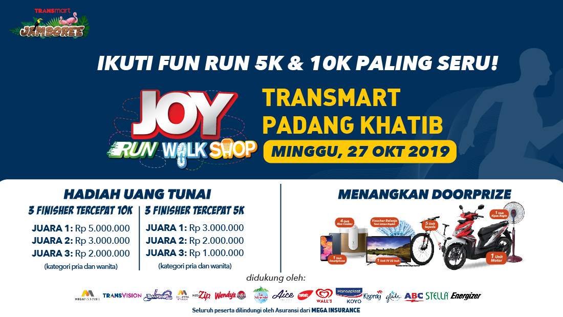 Transmart Padang Joy Run Walk Shop 2019