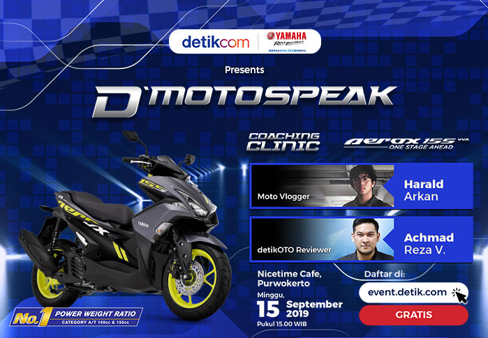 d'Motospeak with Yamaha