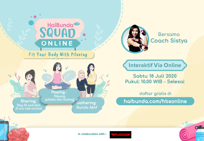 HaiBunda Squad Online - Fit Your Body with Piloxing
