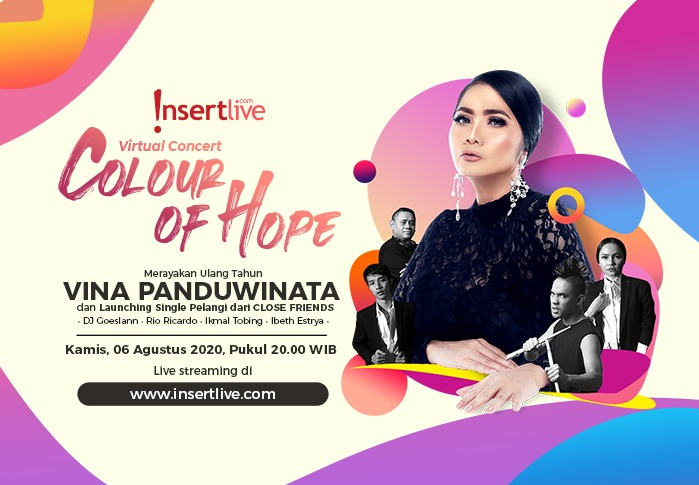 "Virtual Concert ""Colour of Hope"" - Vina Panduwinata and Close Friends"