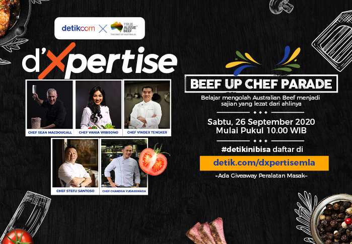 dxpertise x MLA Beef Up Chef Parade