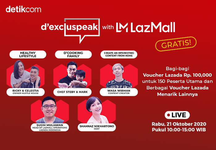 dExcluspeak with LazMall
