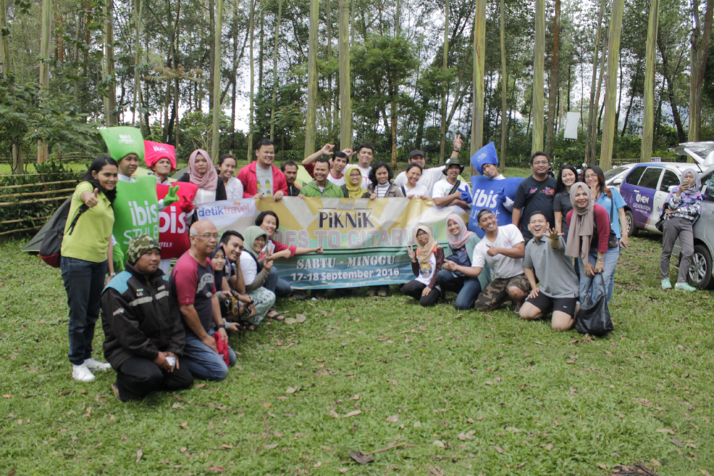 Serunya piknik d'Traveller Goes To Citarum Bareng DetikTravel